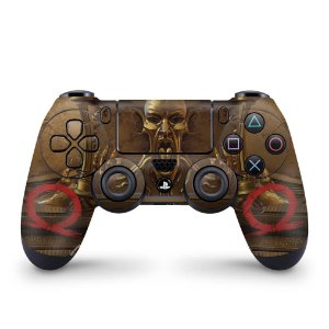 Skin PS4 Controle - Pandora's Box God Of War