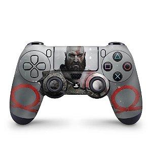 Skin PS4 Controle - God Of War #B