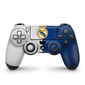 Skin PS4 Controle - Real Madrid