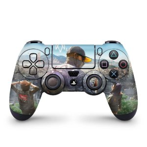 Skin PS4 Controle - Watch Dogs 2