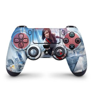 Skin PS4 Controle - Mirror's Edge Catalyst