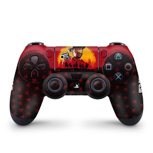 Skin PS4 Controle - Red Dead Redemption 2