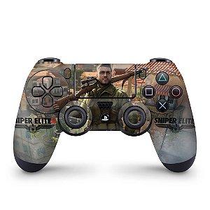 Skin PS4 Controle - Sniper Elite 4