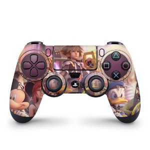 Skin PS4 Controle - Kingdom Hearts