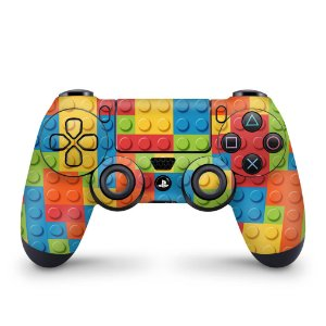 Skin PS4 Controle - Lego peça