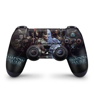 Skin PS4 Controle - Shadow of War