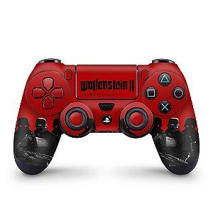 Skin PS4 Controle - Wolfenstein 2 New Order