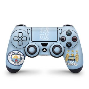 Skin PS4 Controle - Manchester City FC