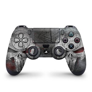 Skin PS4 Controle - The Punisher Justiceiro #b