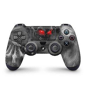 Skin PS4 Controle - Caveira Skull