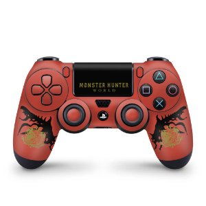 Skin PS4 Controle - Monster Hunter Edition