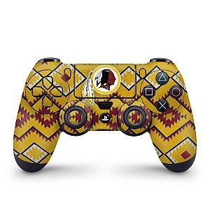 Skin PS4 Controle - Washington Redskins NFL