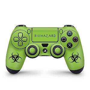 Skin PS4 Controle - Biohazard Radioativo