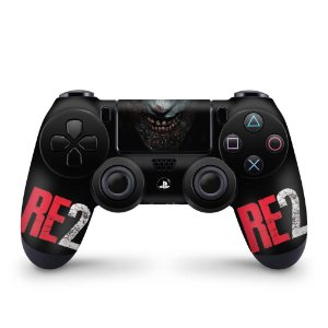 Skin PS4 Controle - Resident Evil 2 Remake