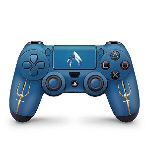 Skin PS4 Controle - Aquaman