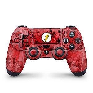 Skin PS4 Controle - The Flash Comics