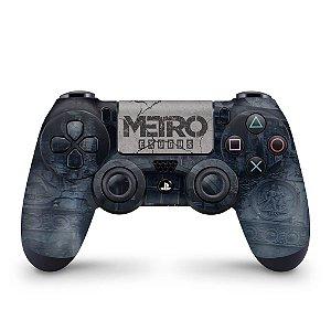 Skin PS4 Controle - Metro Exodus