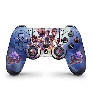 Skin PS4 Controle - Vingadores Ultimato Endgame