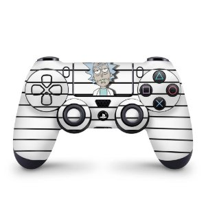 Skin PS4 Controle - Rick Rick and Morty