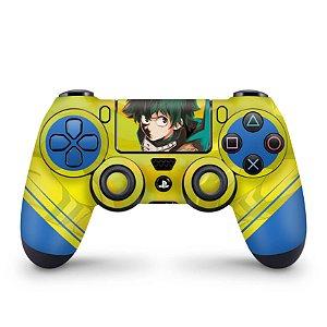 Skin PS4 Controle - Boku no Hero Academia