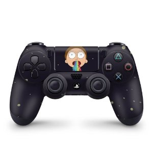 Skin PS4 Controle - Morty Rick and Morty