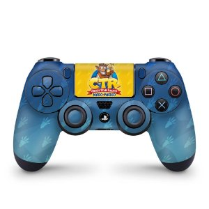 Skin PS4 Controle - Crash Team Racing CTR