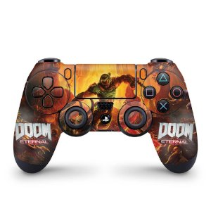Skin PS4 Controle - Doom Eternal