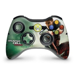Skin Xbox 360 Controle - Splinter Cell Conviction