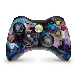 Skin Xbox 360 Controle - Devil May Cry 4