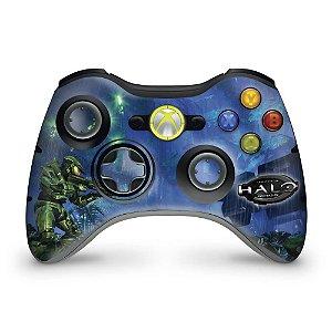 Skin Xbox 360 Controle - Halo Anniversary