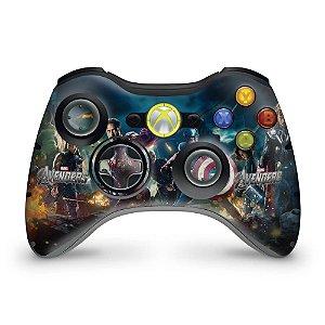 Skin Xbox 360 Controle - Os Vingadores