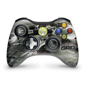 Skin Xbox 360 Controle - Race Driver Grid