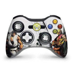Skin Xbox 360 Controle - Street Fighter 4 #a