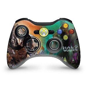 Skin Xbox 360 Controle - Halo Wars
