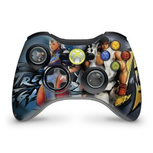 Skin Xbox 360 Controle - Street Fighter 4 #b