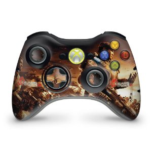 Skin Xbox 360 Controle - Gears Of War 2
