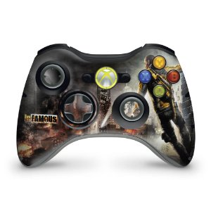 Skin Xbox 360 Controle - Infamous