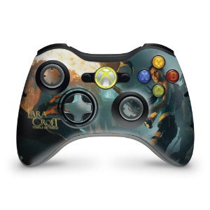 Skin Xbox 360 Controle - Lara Croft Temple Osiris