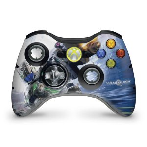 Skin Xbox 360 Controle - Vanquish