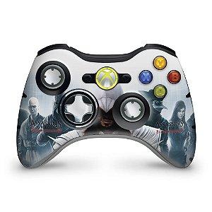 Skin Xbox 360 Controle - Assassins Creed Brotherwood #C