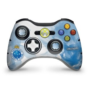 Skin Xbox 360 Controle - Cruzeiro