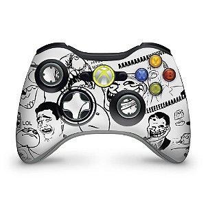 Skin Xbox 360 Controle - Memes