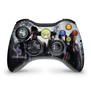 Skin Xbox 360 Controle - Resident Evil 6