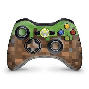 Skin Xbox 360 Controle - Minecraft