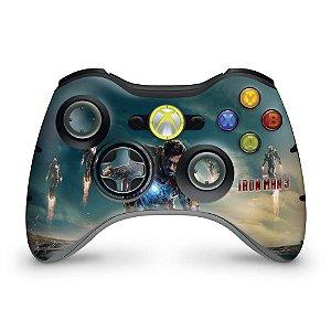 Skin Xbox 360 Controle - Homem De Ferro #a