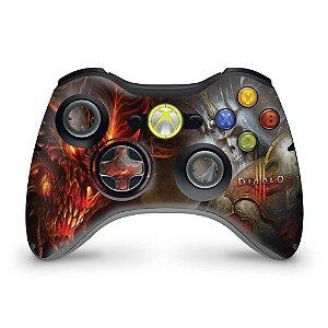 Skin Xbox 360 Controle - Diablo 3
