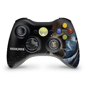 Skin Xbox 360 Controle - Watch Dogs