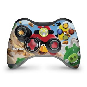 Skin Xbox 360 Controle - Angry Birds
