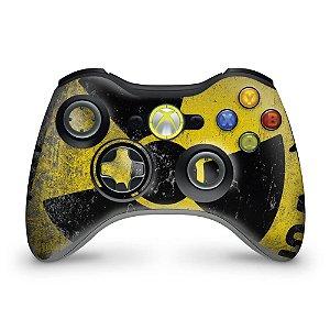 Skin Xbox 360 Controle - Radioativo