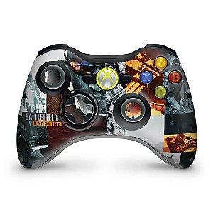 Skin Xbox 360 Controle - Battlefield Hardline